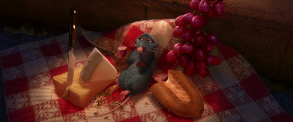food moments in film